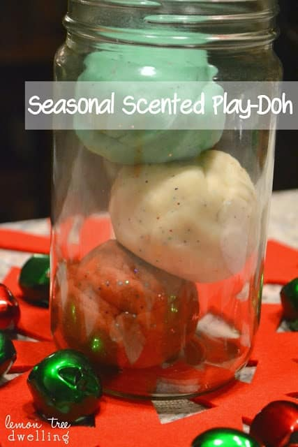 Scented Play-Doh is a quick and simple craft to make with your kids.