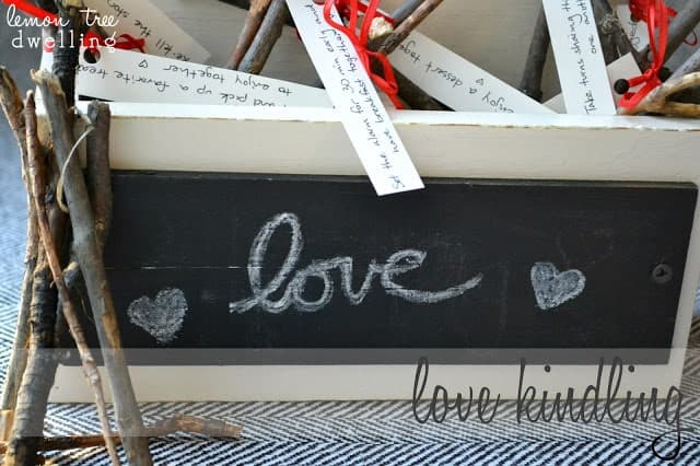 Love Kindling - A romantic Valentine's Day gift idea