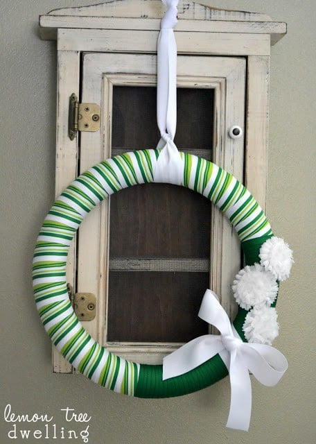 St. Patrick's Day Wreath is a beautiful addition to your doorway