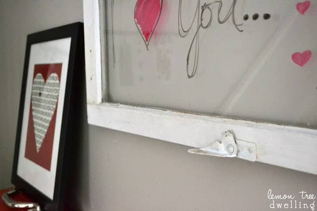 homemade hanging message window