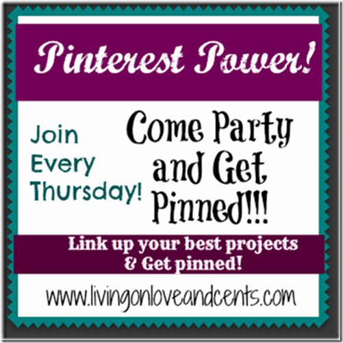A Fun Thursday Pinterest Power linky Party with recipes and crafts