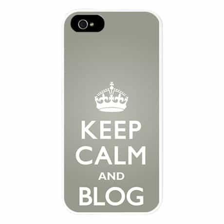 Blog Carry On iPhone 5 Case