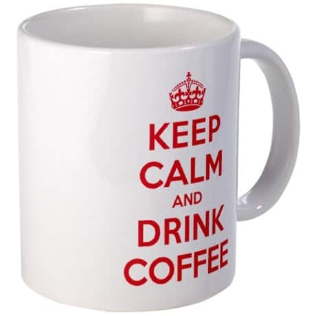 K C Drink Coffee Mug