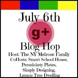 G+ Blog Hop Button july