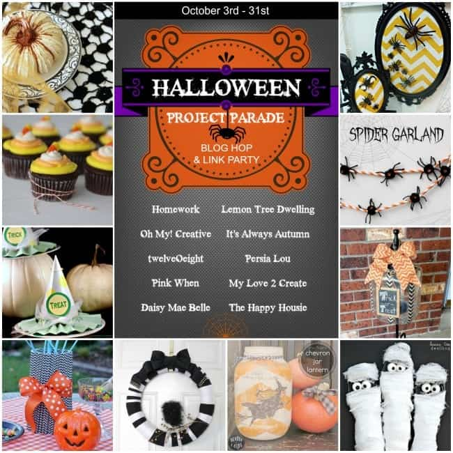 Halloween Project Parade Blog Hop & Link Party