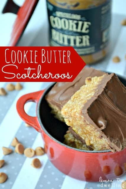 Cookie Butter Scotcheroos