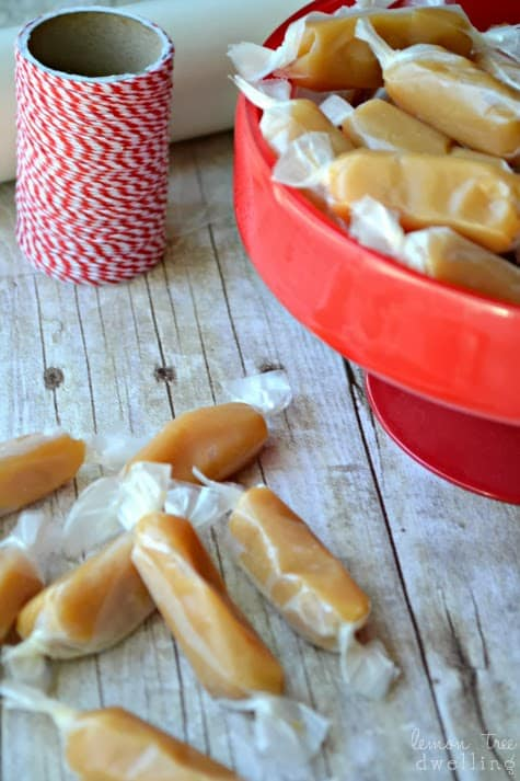 Homemade Rum Caramels are the real deal! So smooth and flavorful, these soft and chewy bites are worth the effort. Enjoy a delicious hint of rum flavoring.