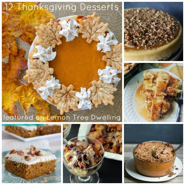 12 delicious thanksgiving desserts lemon tree dwelling