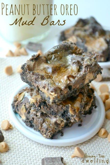 Peanut Butter Oreo Mud Bars 1jpg