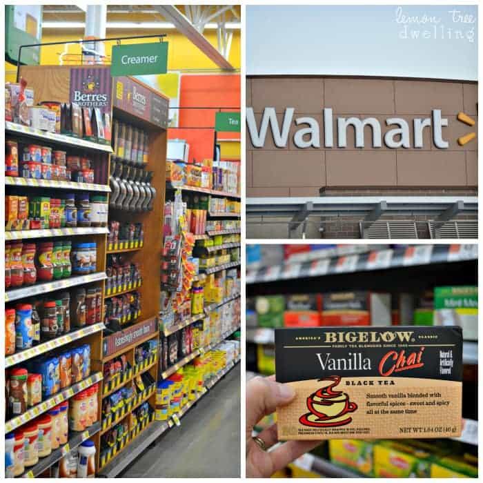 #AmericasTea, #shop, #cbias Walmart Aisle