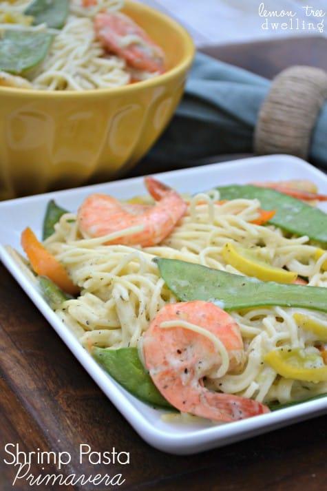 Shrimp Pasta Primavera 5b
