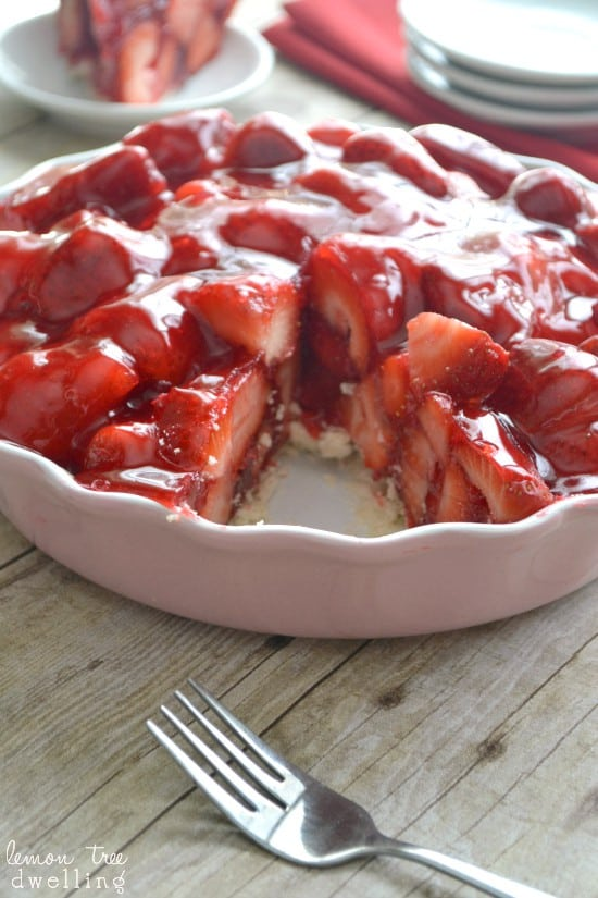 The BEST Strawberry Pie recipe!