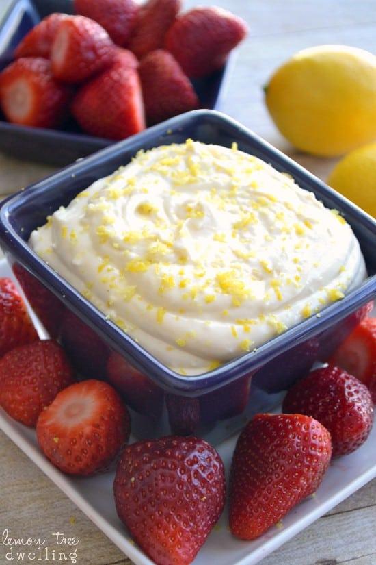Creamy Lemon Dip 1