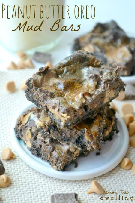 Peanut Butter Oreo Mud Bars 1jpg