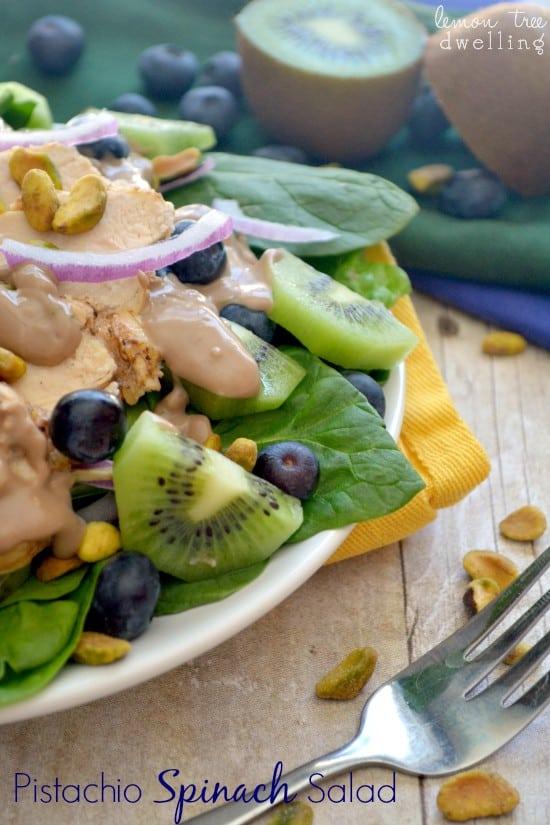 Pistachio Spinach Salad 3