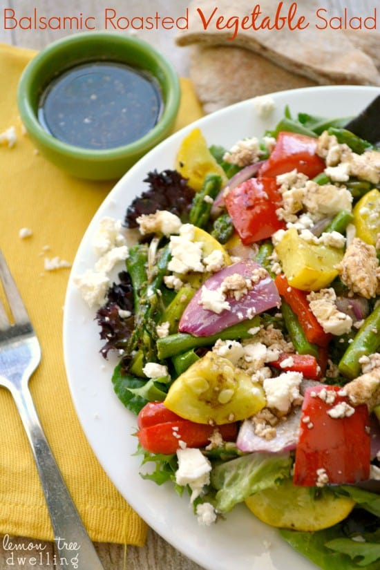 Balsamic Roasted Vegetable Salad 5