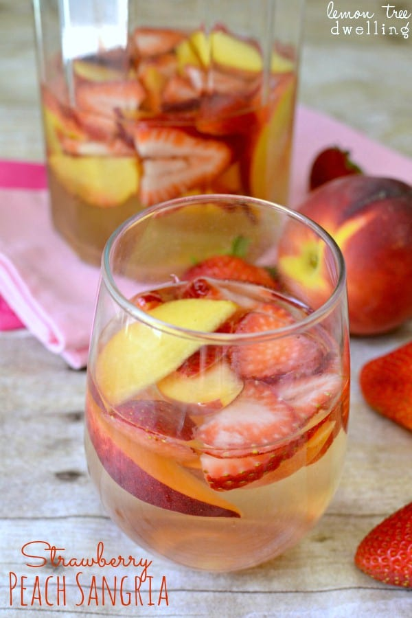 Strawberry Peach Sangria 2c