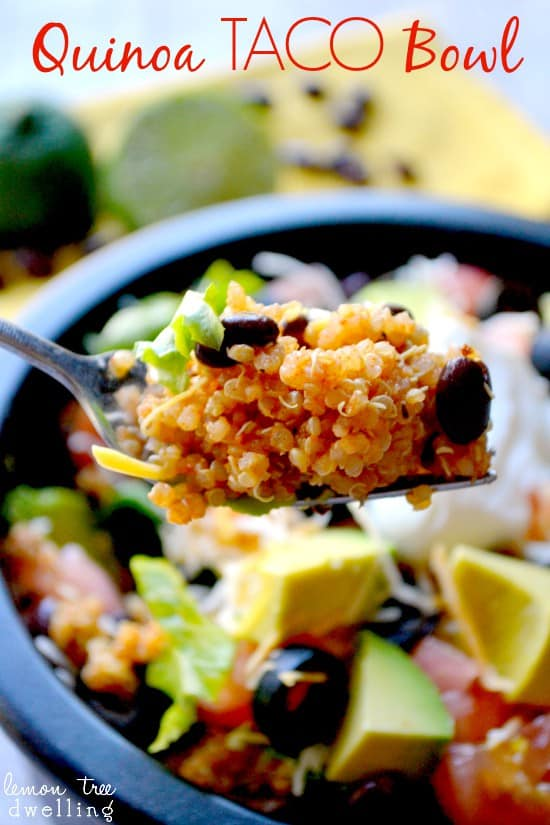 Quinoa Taco Bowl 8