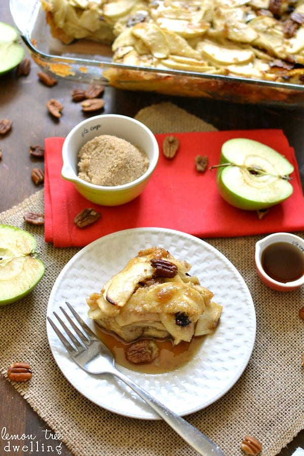 Apple Breakfast Bake. SO yummy for fall!!  #MyPicknSave #shop