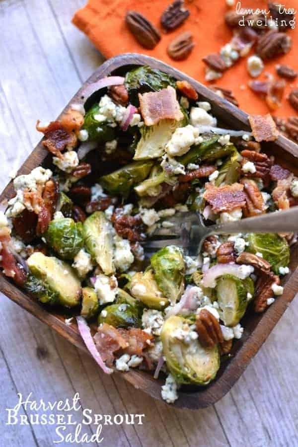 Harvest Brussel Sprout Salad 1b