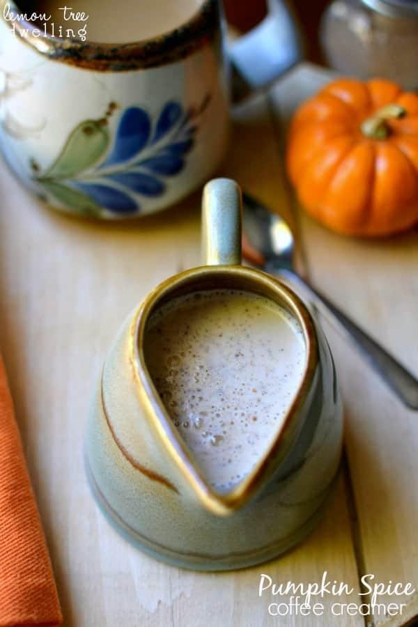 Pumpkin Spice Coffee Creamer 3