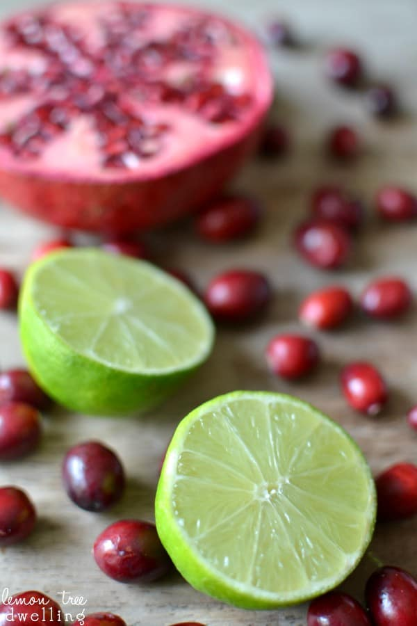 Gingered Pomegranate Lime Cranberry Sauce is a delicious twist on tradition.