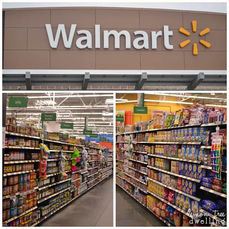 Walmart Aisles Baking and Honey Maid