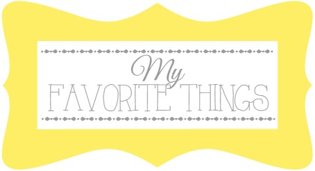Favorite Things Giveaway favorite things image