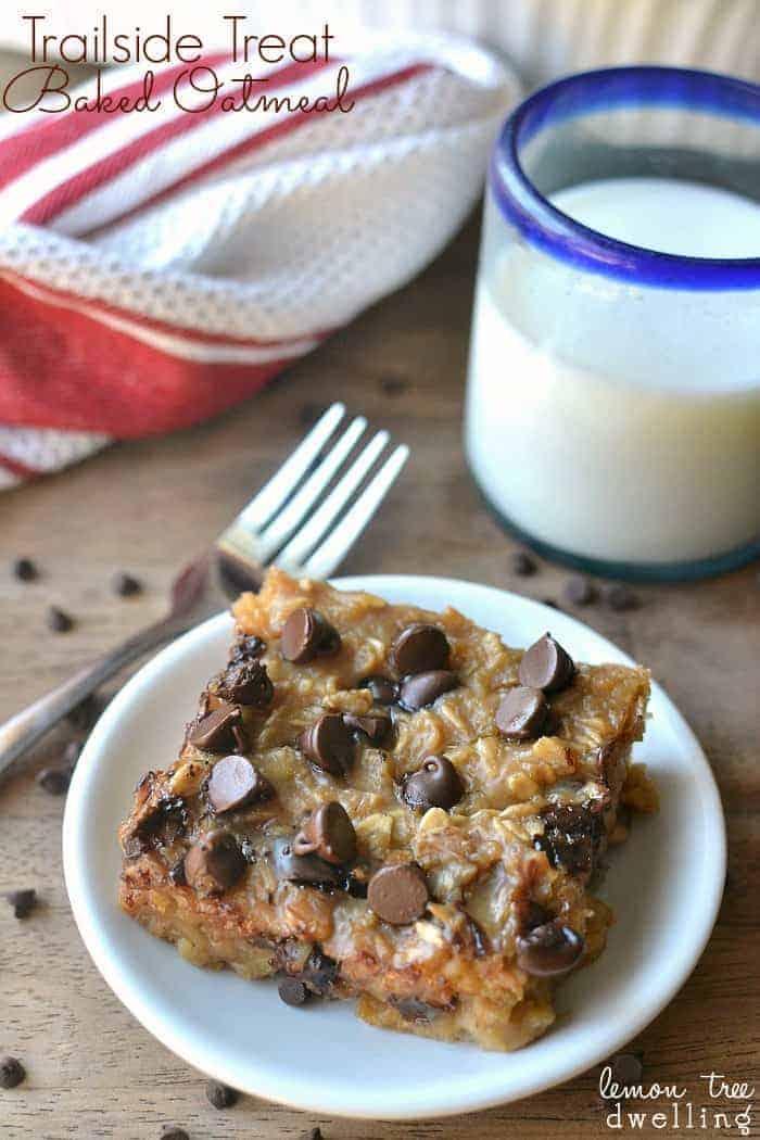 Trailside Treat Baked Oatmeal. What a delicious breakfast idea!