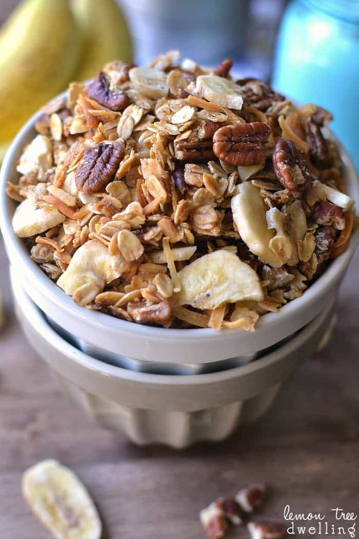 Banana Bread Granola - this might become my new favorite!!