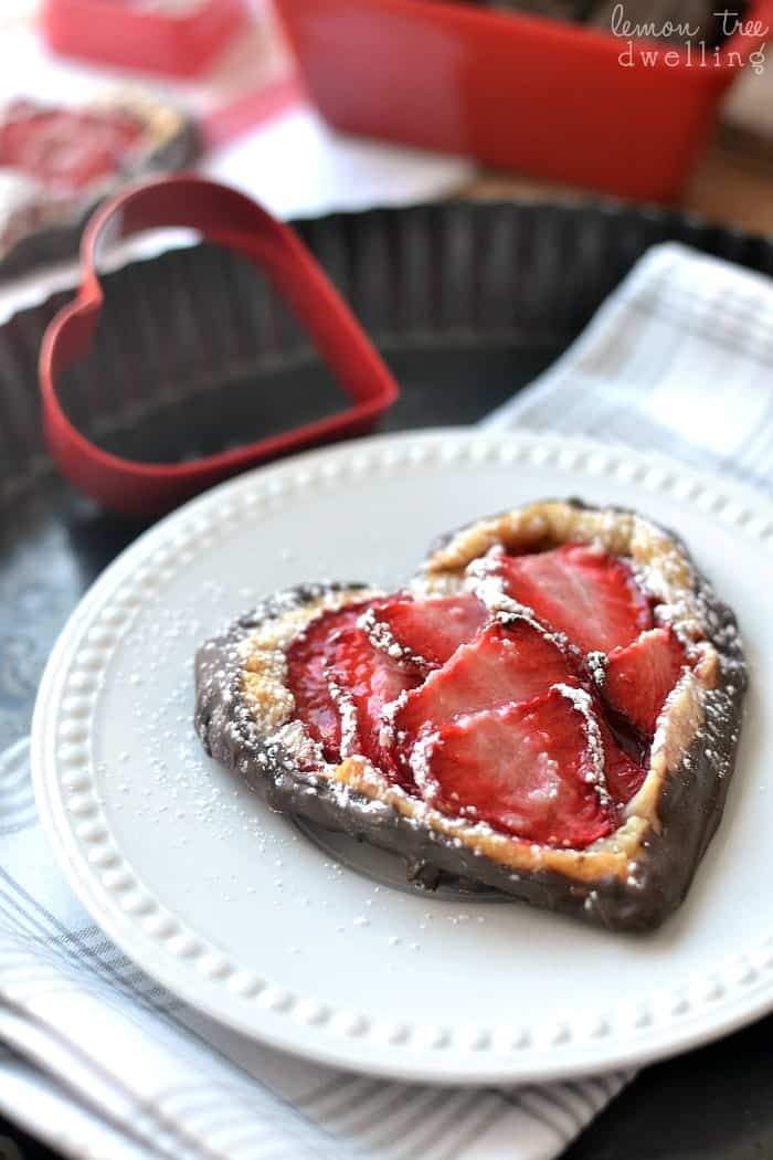 Chocolate Covered Strawberry Galette is a sweet dessert that is simple to make.