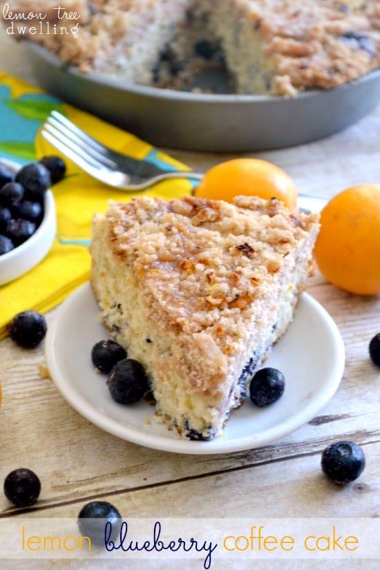 Lemon Blueberry Coffee Cake 5