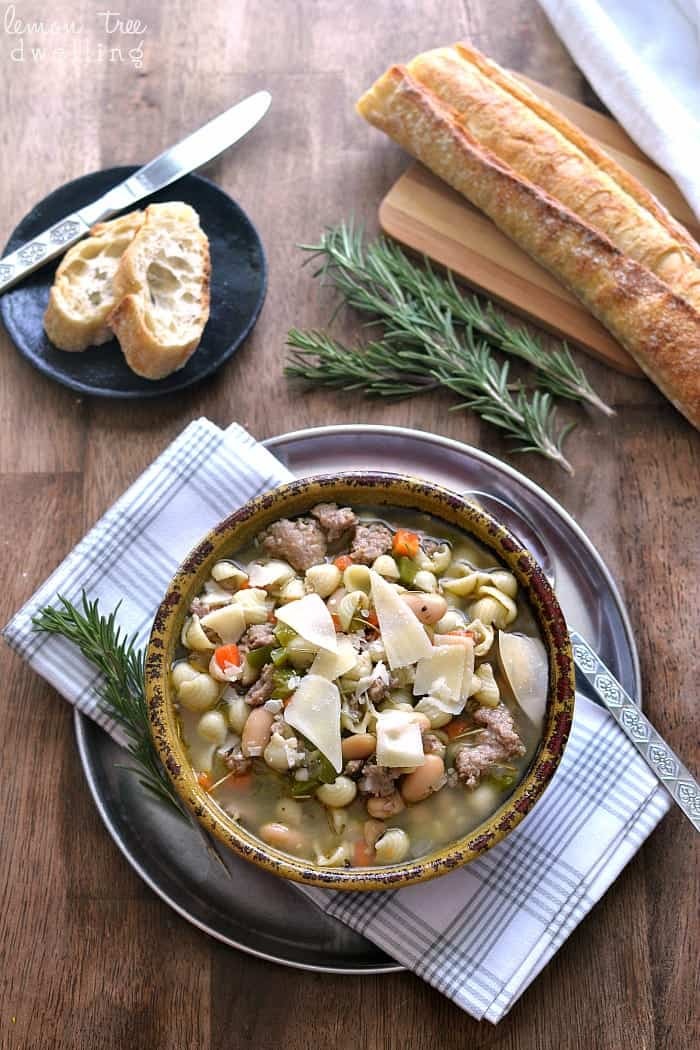 Pasta e Fagioli - one of my FAVORITE soups ever!