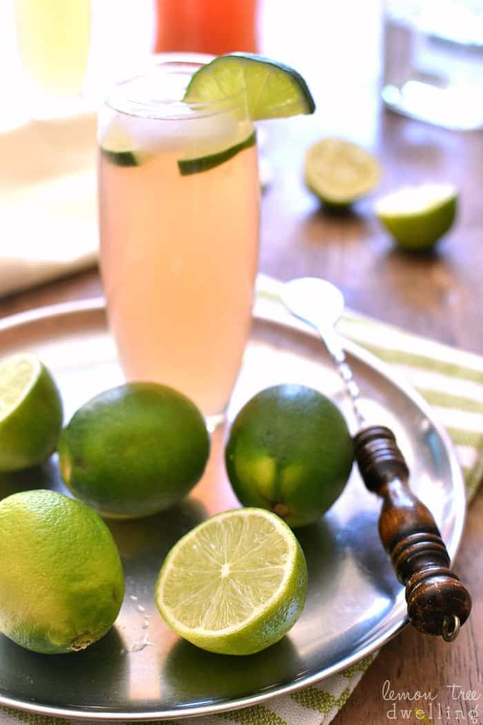 Paloma Cocktail - so refreshing for summer, and perfect for Cinco de Mayo!