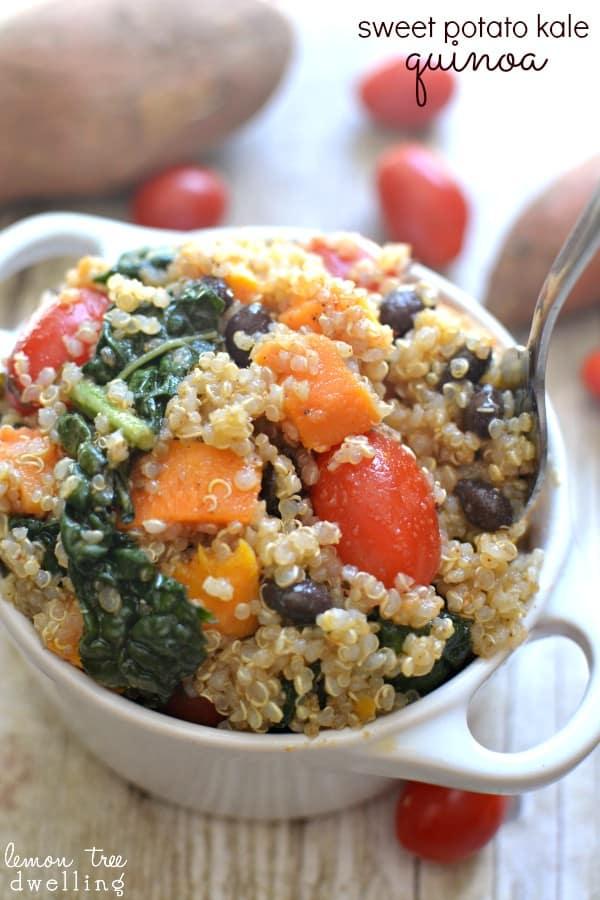 Sweet Potato Kale Quinoa 4