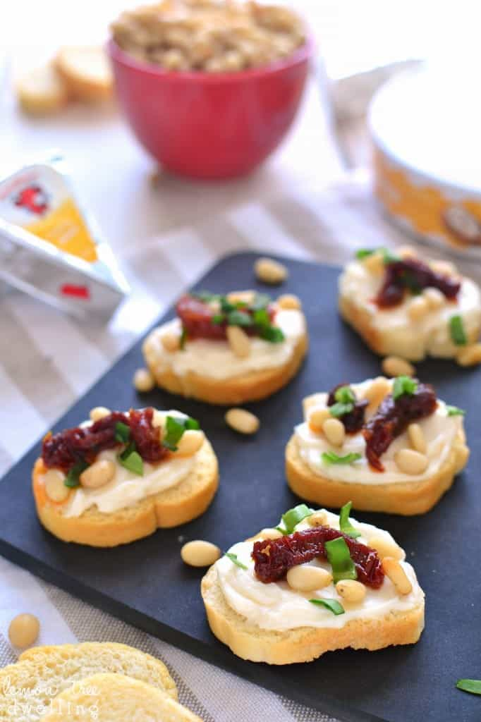 Sun Dried Tomato Asiago Crostini 5b