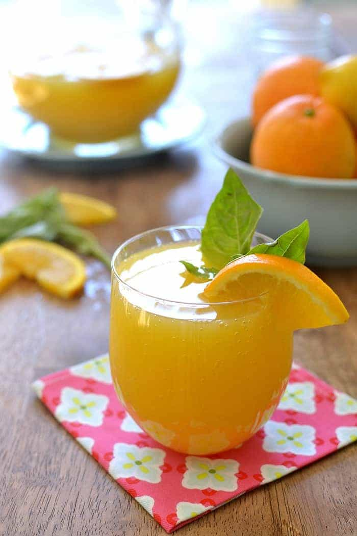 Lemon Basil Mimosa