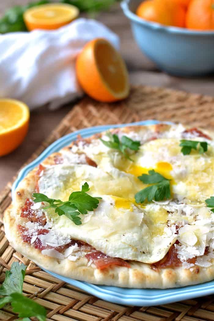 Breakfast Pizza Carbonara 1b