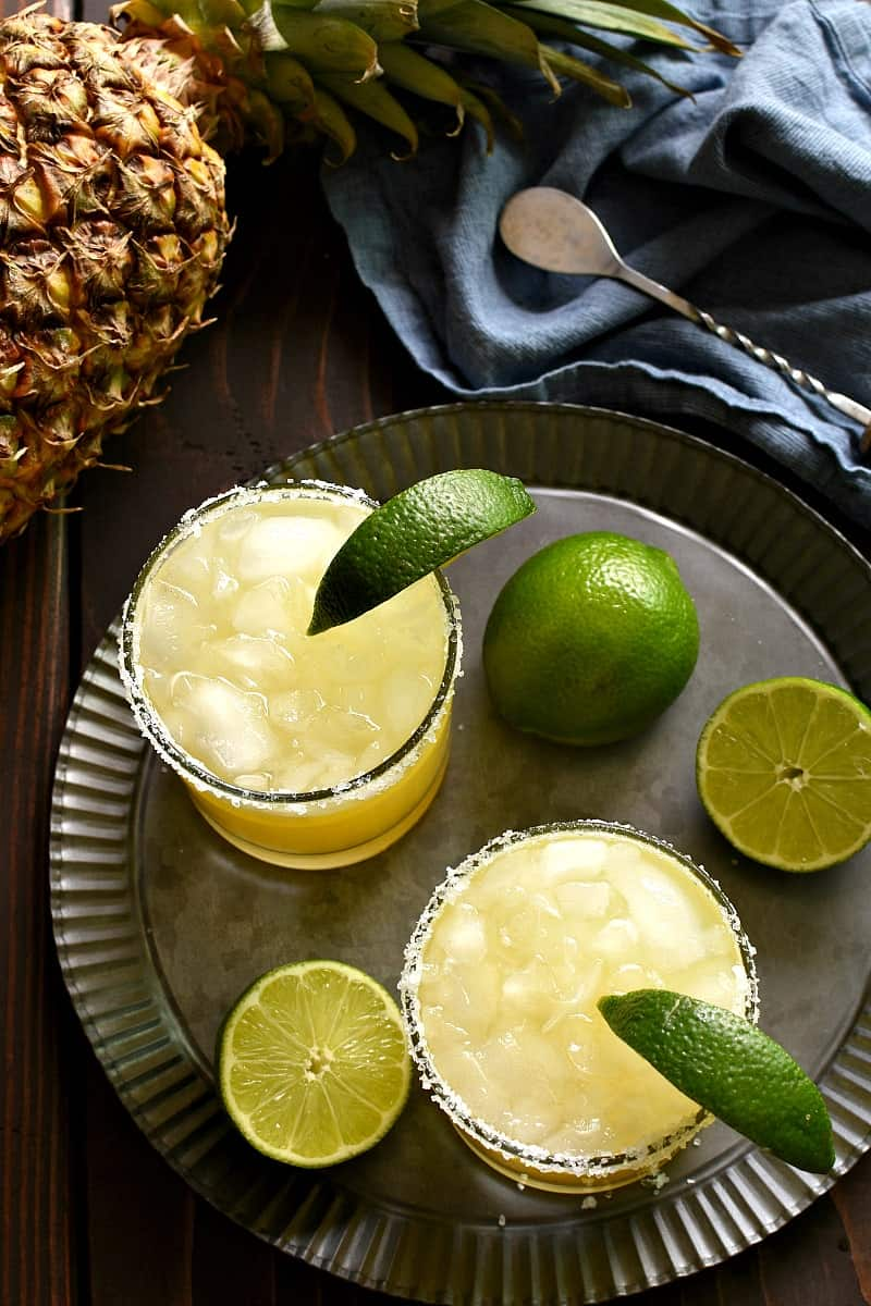 Pineapple Margaritas 5