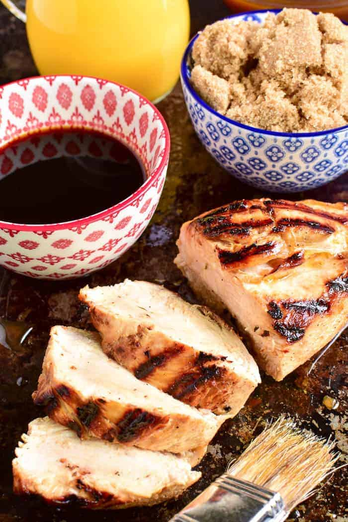 Take your grilling to the next level with this Easy Chicken Marinade! Made with simple, everyday ingredients, this easy marinade comes together in minutes and gives the BEST flavor to grilled chicken. It combines savory and sweet flavors with just a touch of spice for meat that's moist, flavorful, and extremely versatile. If you love grilled chicken, you'll love the difference this marinade makes!