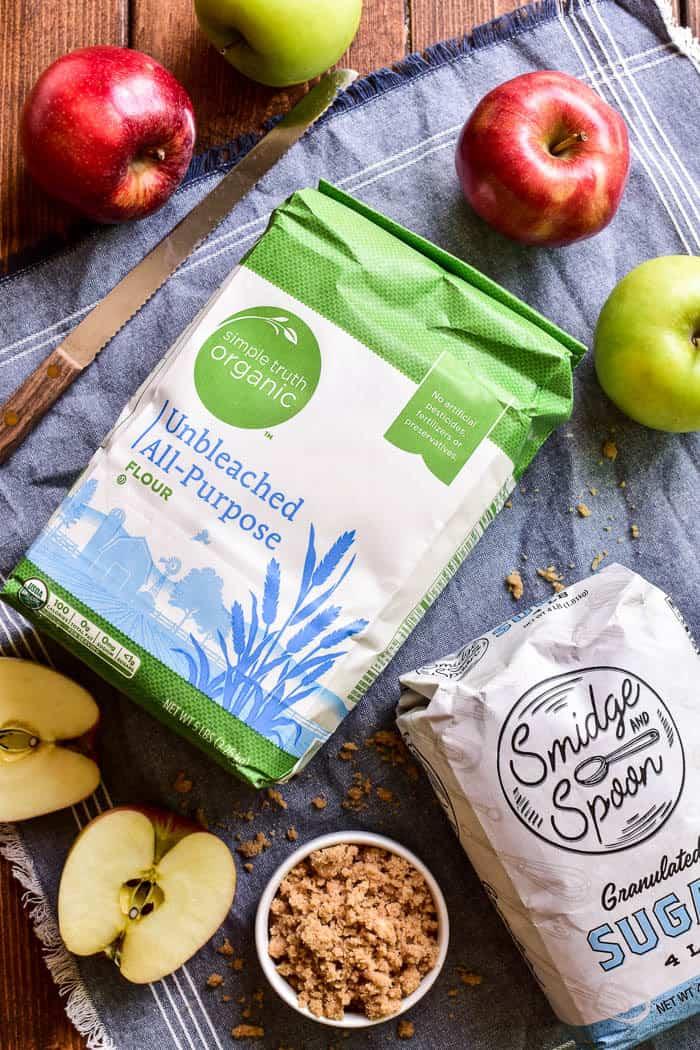 Simple Truth Flour and Smidge & Spoon Sugar