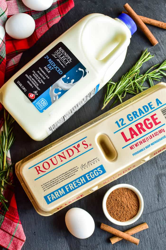 Roundy's milk and eggs