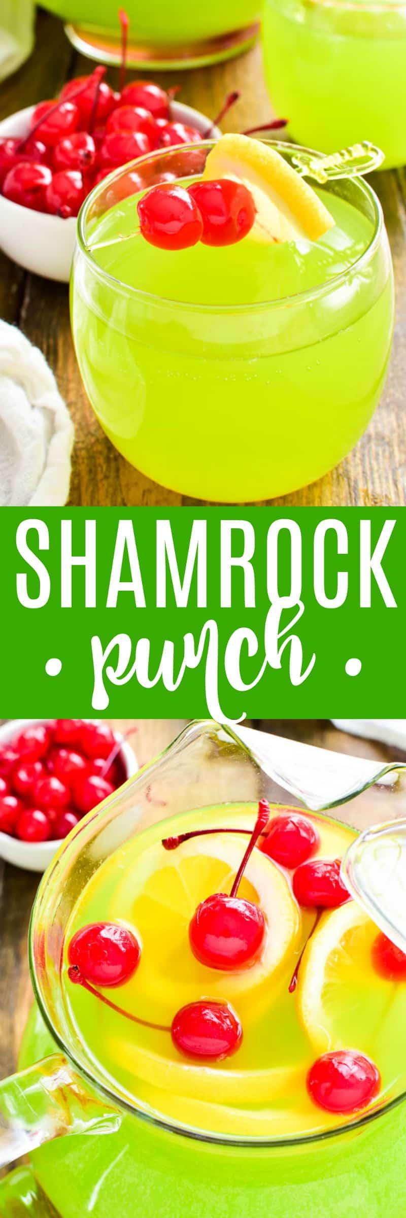Collage image of Shamrock Punch