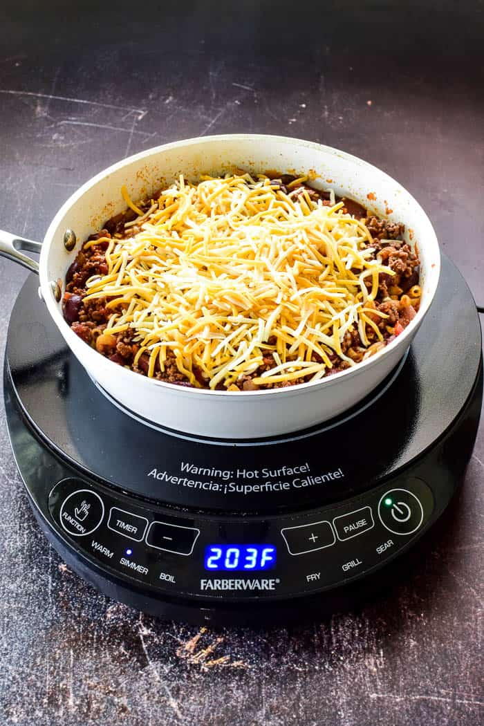 Chili Mac final step