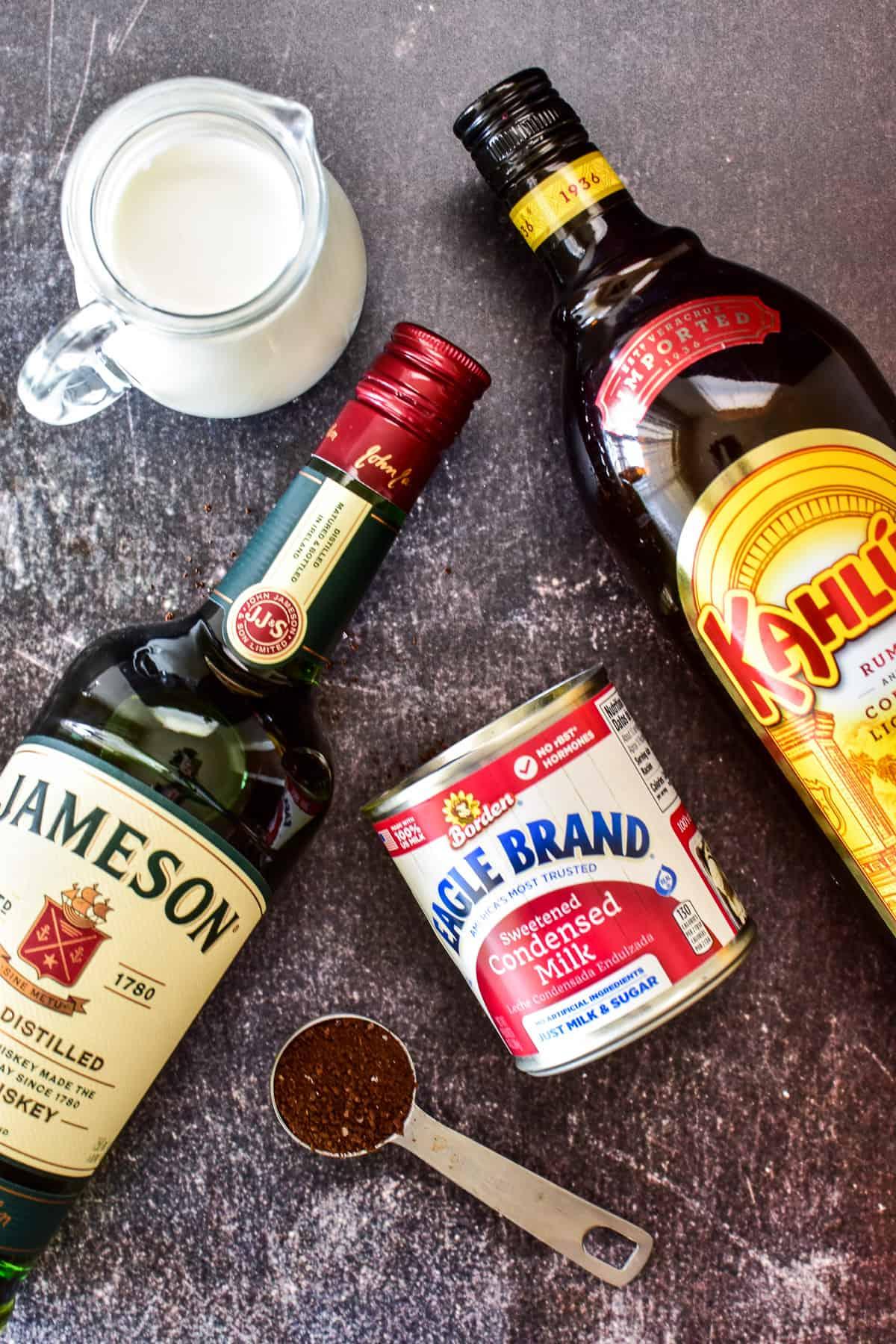 Irish Cream recipe ingredients