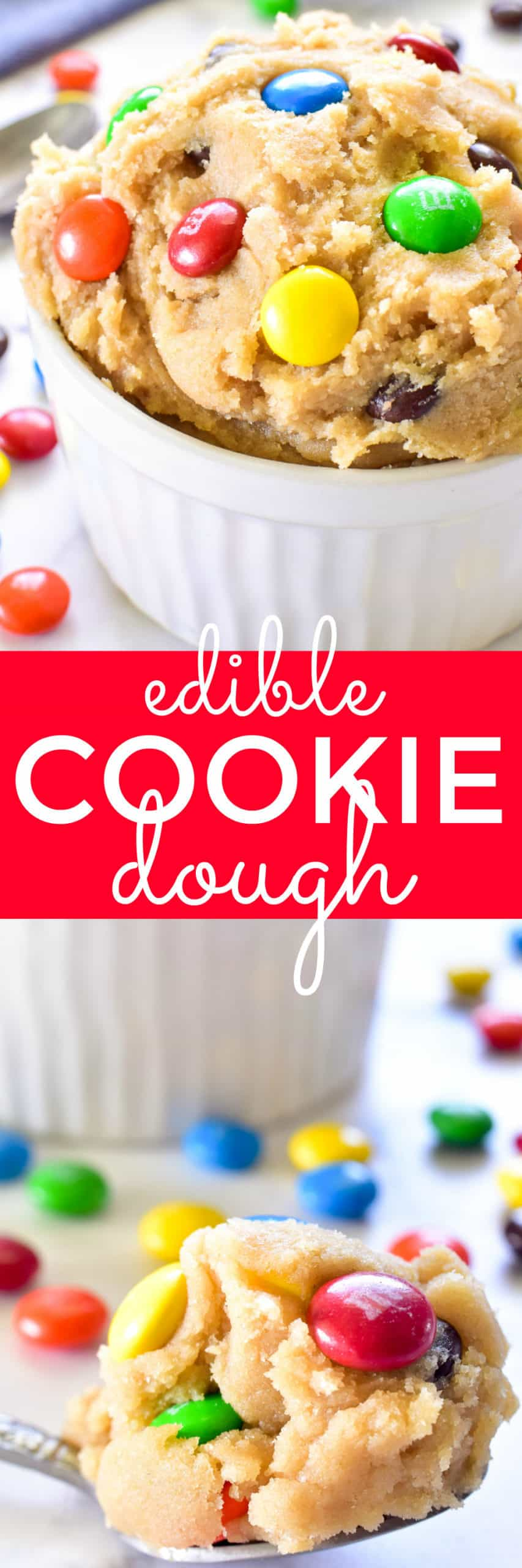 Collage image of Edible Cookie Dough