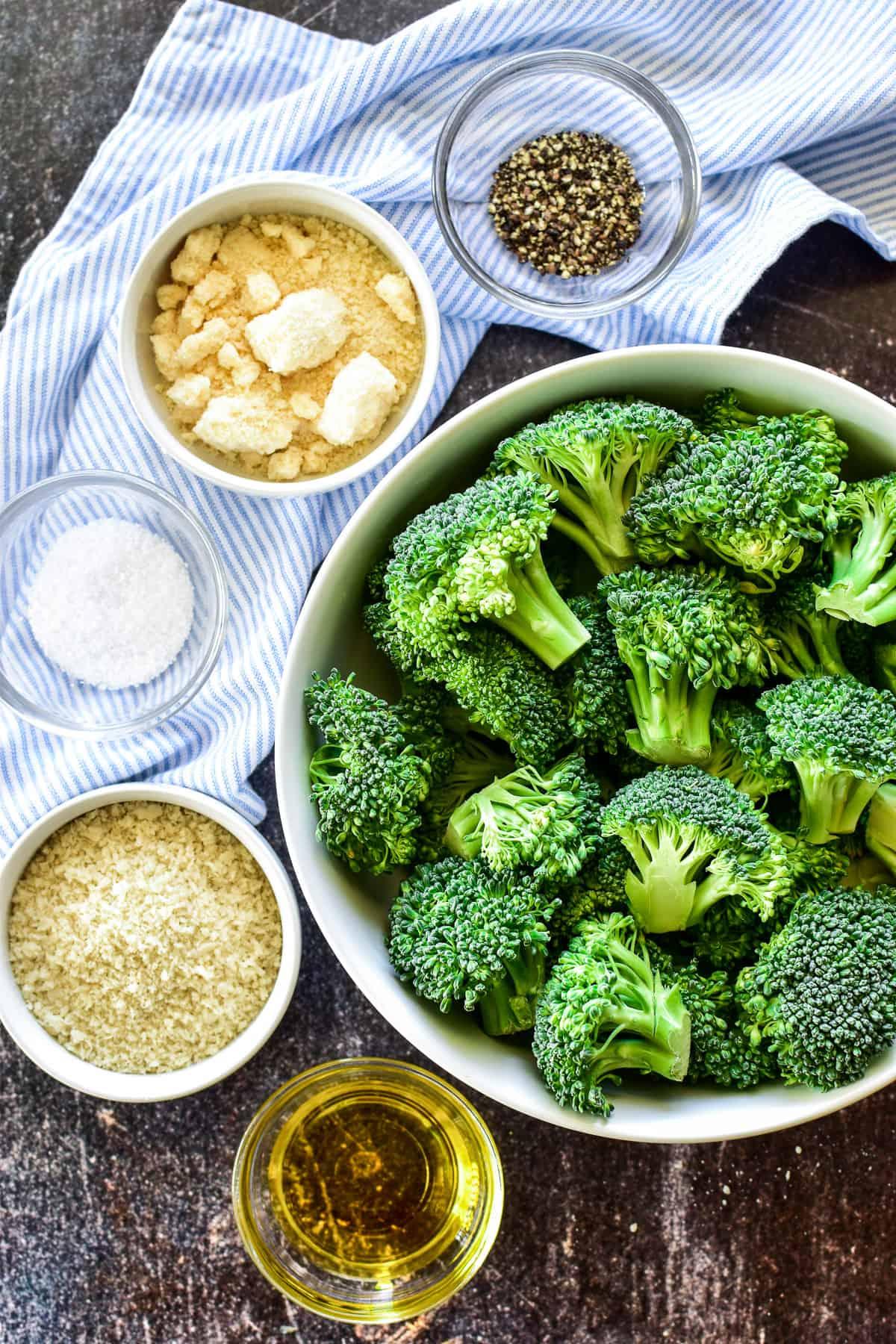 Parmesan Roasted Broccoli ingredients